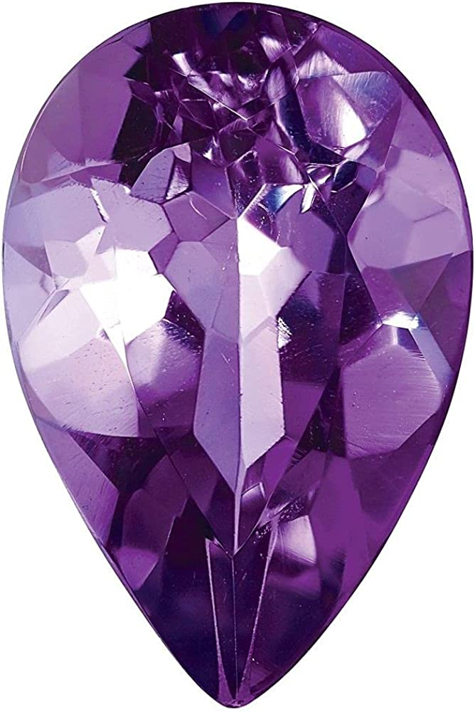 Jewelry-AMETHYST 10X7MM New arrival PEAR QUALITY Max 70% OFF AA