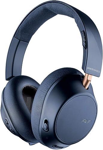 2021 Plantronics BackBeat GO 810 Wireless Headphones, Active Noise Canceling 2021 Over Ear Headphones, Navy lowest Blue sale