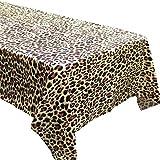 Leopard Print Tablecovers (2), Safari Birthdays, Leopard Party Supplies, Animal Themed Decorations, Cheetah Print