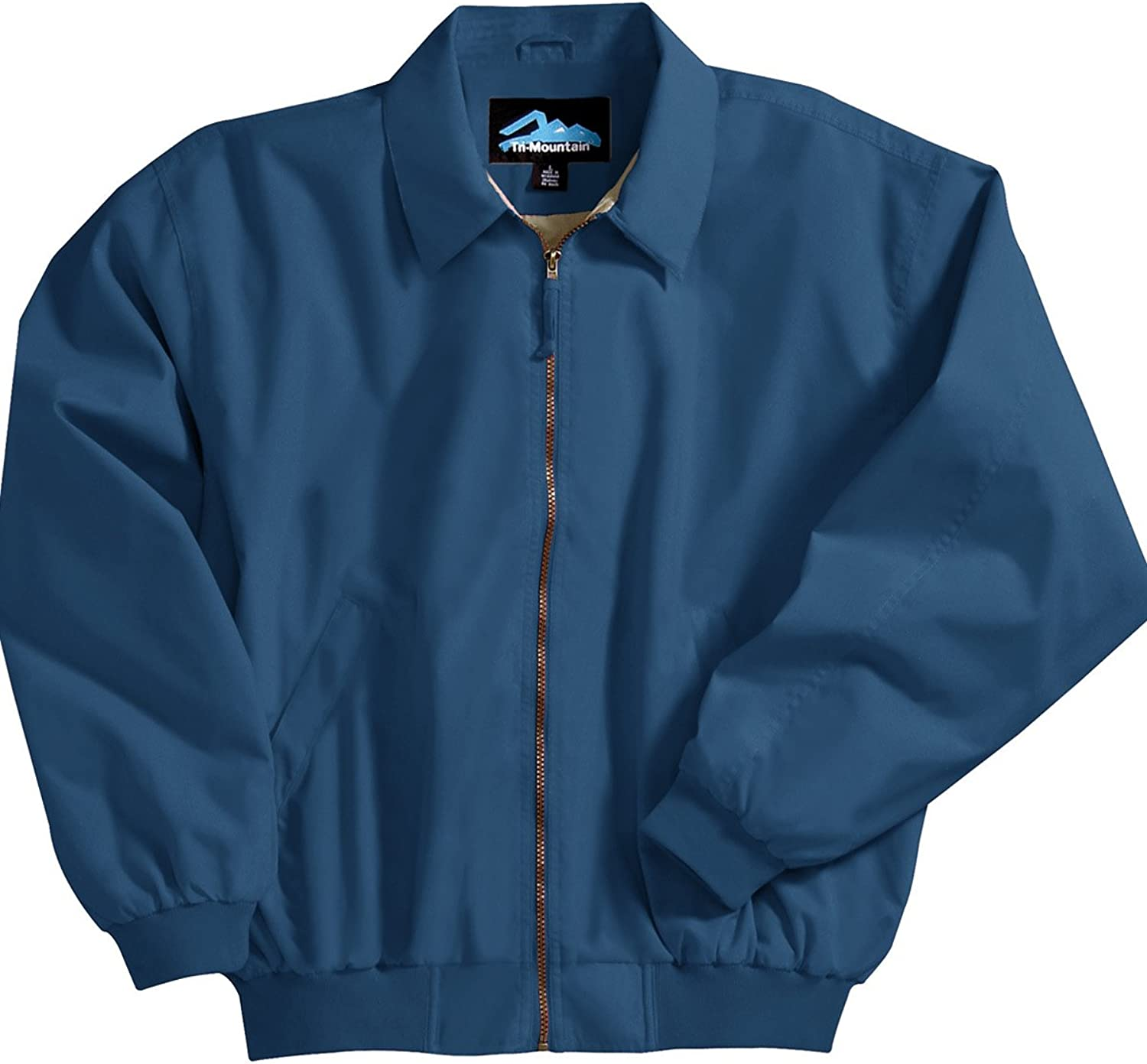 Achiever Microfiber Jacket with Poplin Lining, Color: Midnight Blue, Size: XXXX-Large