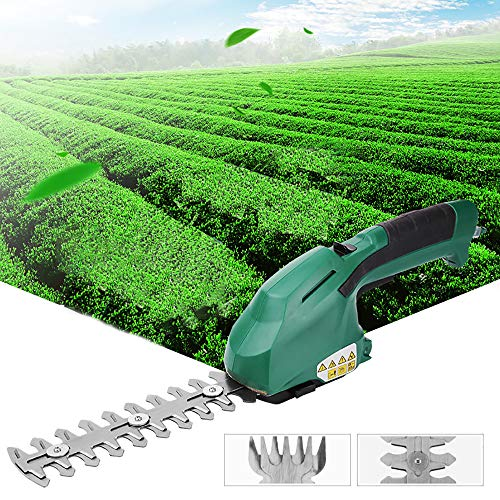 Buy Discount Rong Multifuncion Electric Hedge Trimmer Grass Trimmer 2 in 1 7.2V Cordless Household T...