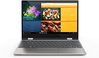 Lenovo YOGA 720 2-in-1 Laptop - Intel Core i7-7500U, 12.5-Inch Touch, 256GB, 8GB, Eng-Arb-KB, Windows 10, Platinum Grey