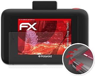 3X antirreflectante y Flexible FX Pel/ícula Protectora atFoliX Anti-Choque L/ámina Protectora de Pantalla para Polaroid Snap Touch Antichoque Pel/ícula Protectora