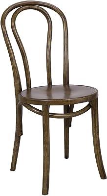 Elm Café Dining Chair Thin Edge, Antique Brown