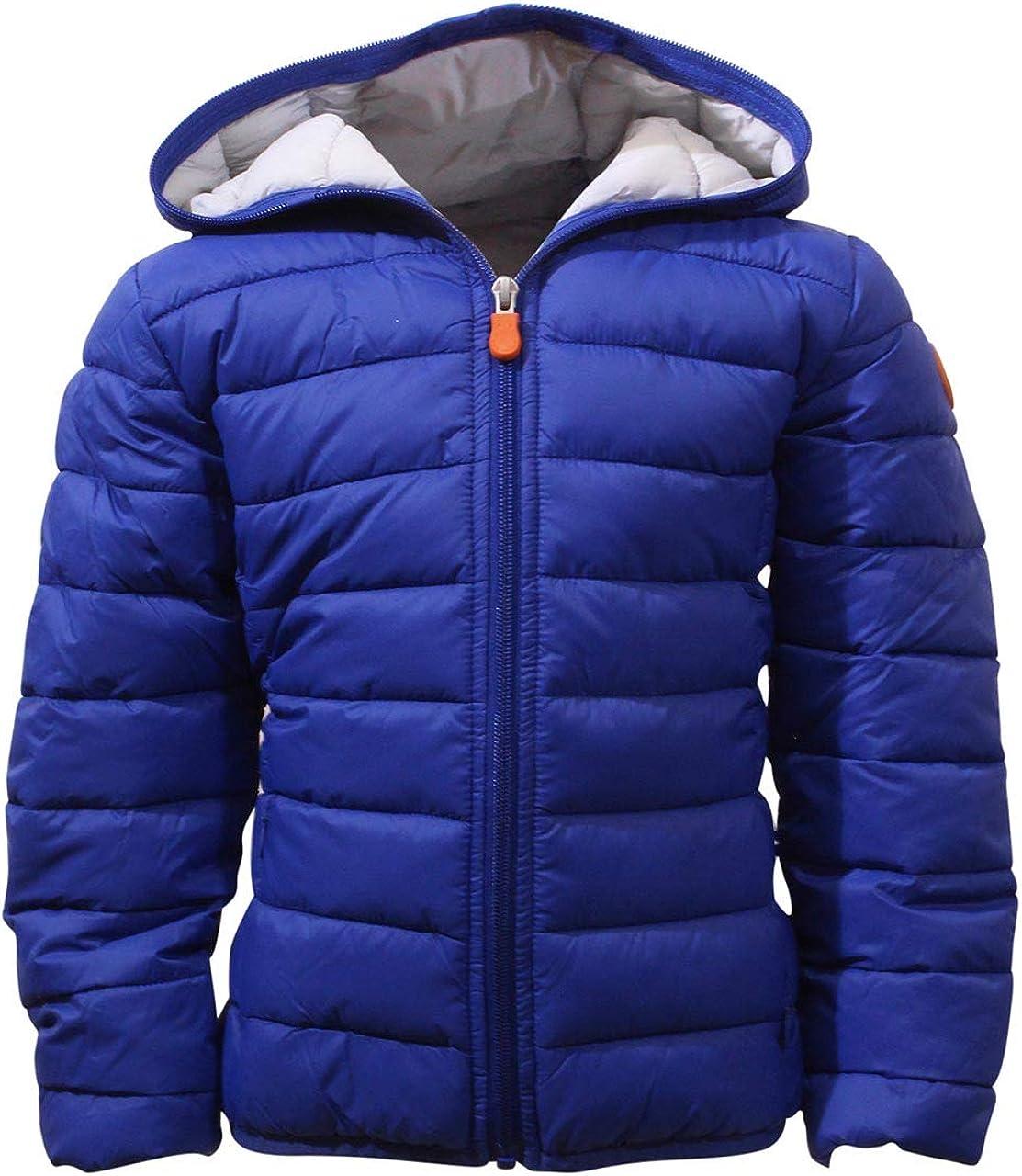 Save The Duck Little/Big Boy's Giga Hooded Long Sleeve Puffer Jacket