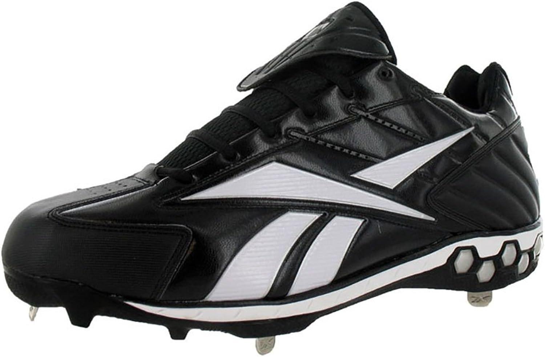Reebok Men'S High N Tight Ii Low Hex Baseball And Softball shoes Black, White (14)