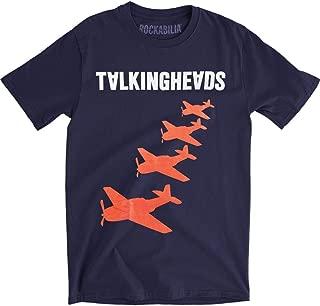 Talking Heads Planes Men's Short Sleeve T-Shirt - Navy
