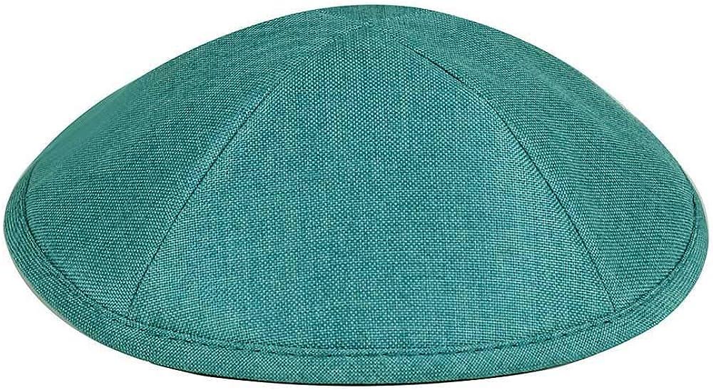 Zion Judaica Deluxe Linen Over item handling ☆ Recommendation Kippot Custom Single Optional Bulk Imp