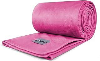 DEMOZU Non-Slip Quick-Dry Hot Yoga Towel, Soft Sweat Absorbent Plush Microfiber Yoga Towel for Bikram Pilates Hot Yoga and...