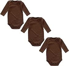 100% Cotton Newborn Baby Bodysuits for Infant Girls Boys, Preemie-24 Months