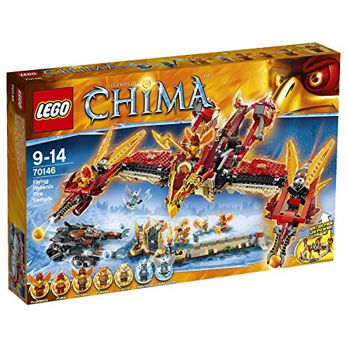 LEGO Legends of Chima 70146 - Phoenix Fliegender Feuertempel