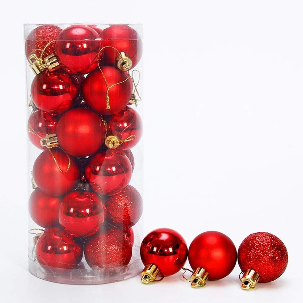 HYBB 2020 Popular brand Christmas Hanging Glitter Ball Matte Shiny Sales