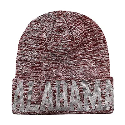 Classic Cuff Beanie Hat Ultra Soft Blending Football Winter Skully Hat Knit Toque Cap