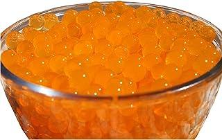 Verlike 10Sacs en forme de perles en cristal Perles d'eau du sol Mud Grow Magic Balls Plante décorative, Orange, Taille u...
