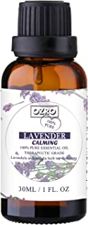 OZRO Lavender Essential Oil - 100% Pure Essential Oils for Aroma Diffuser, Humidifier, Warmer, Burner and Massage Therapy, Highest Therapeutic Grade Aromatherapy Essential Oils - Aussie Owned & Operated (30ml)