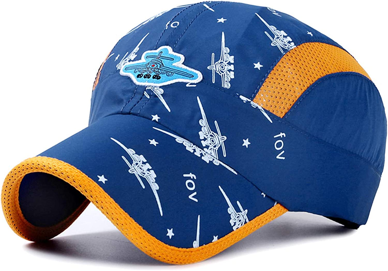 Toddler Baseball Hat Baby Boy Sun Hats Kids Camouflage Boys Baseball Caps Airy Mesh UV Protection Caps Quick Drying Sun Hat