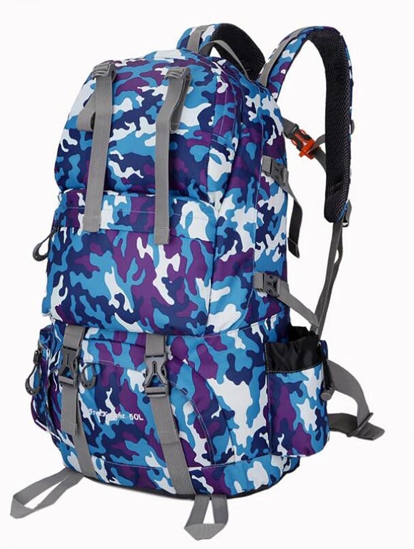 Hiking Backpack 50L Waterproof Sports Bag Big Capacity Outdoor Bags Mountaineering Hunting Travel Backpacks , 6