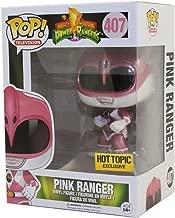 Funko Pop! Mighty Morphin Power Rangers, Pink Ranger Metallic Exclusive Vinyl Figure