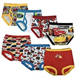 Disney Cars Boys Potty Training Pants Underwear Toddler, Cars Multi, Size 3T
