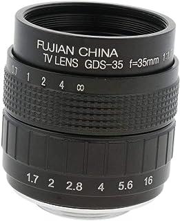 Almencla 35mm F/1.7 Large Aperture Manual Prime Fixed Lens for Olympus Panas0nic DSLR