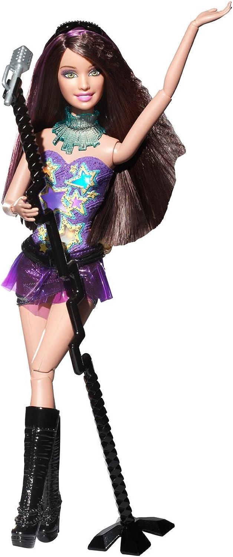 Mattel W1597 Barbie Fashionistas Rockstar, Puppe Sassy