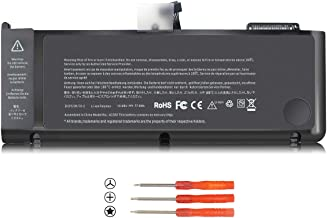 New A1382 Laptop Battery Compatible with MacBook Pro 15 inch A1286 (Early 2011/Late 2011/Mid 2012), Fit MD103xx/A MD104xx/A MD322xx/A MD318xx/A MC723xx/A MC721xx/A 661-5844 020-7134-A 10.95V 77.5Wh