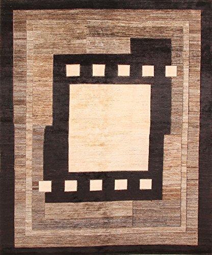 Klassiek handgeknoopt Orient tapijt Ziegler reliëf uit Pakistan 226 x 188 cm