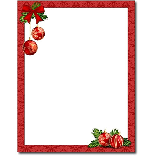 Christmas Stationery.Christmas Stationery Paper Amazon Com
