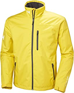 Helly-Hansen mens Crew Waterproof Windproof Breathable Rain Coat Jacket