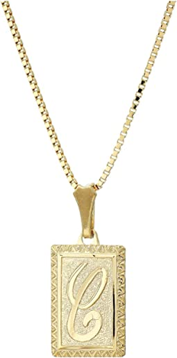 The London Initial Necklace