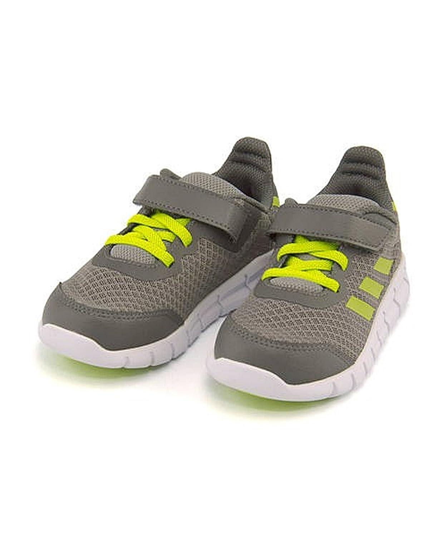 [アディダス] 女の子 男の子 キッズ ベビー 子供靴 運動靴 通学靴 ベビーシューズ スニーカー ベビー ラピダフレックス EL I CMF インファント ストラップ BABY RAPIDAFLEX EL I