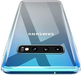 Galaxy S10 Case, AINOYA Crystal Clear Soft TPU Bumper [Shock Absorption Technology] [Drop Cushion] Raised Bezels Slim Protective Cover for Samsung Galaxy S10