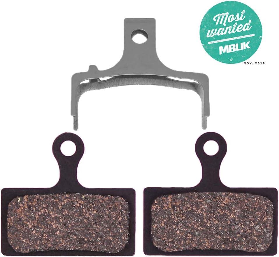 ASHIMA Set 4 brake pads for Shimano XTR br-m985 Metal seeds//
