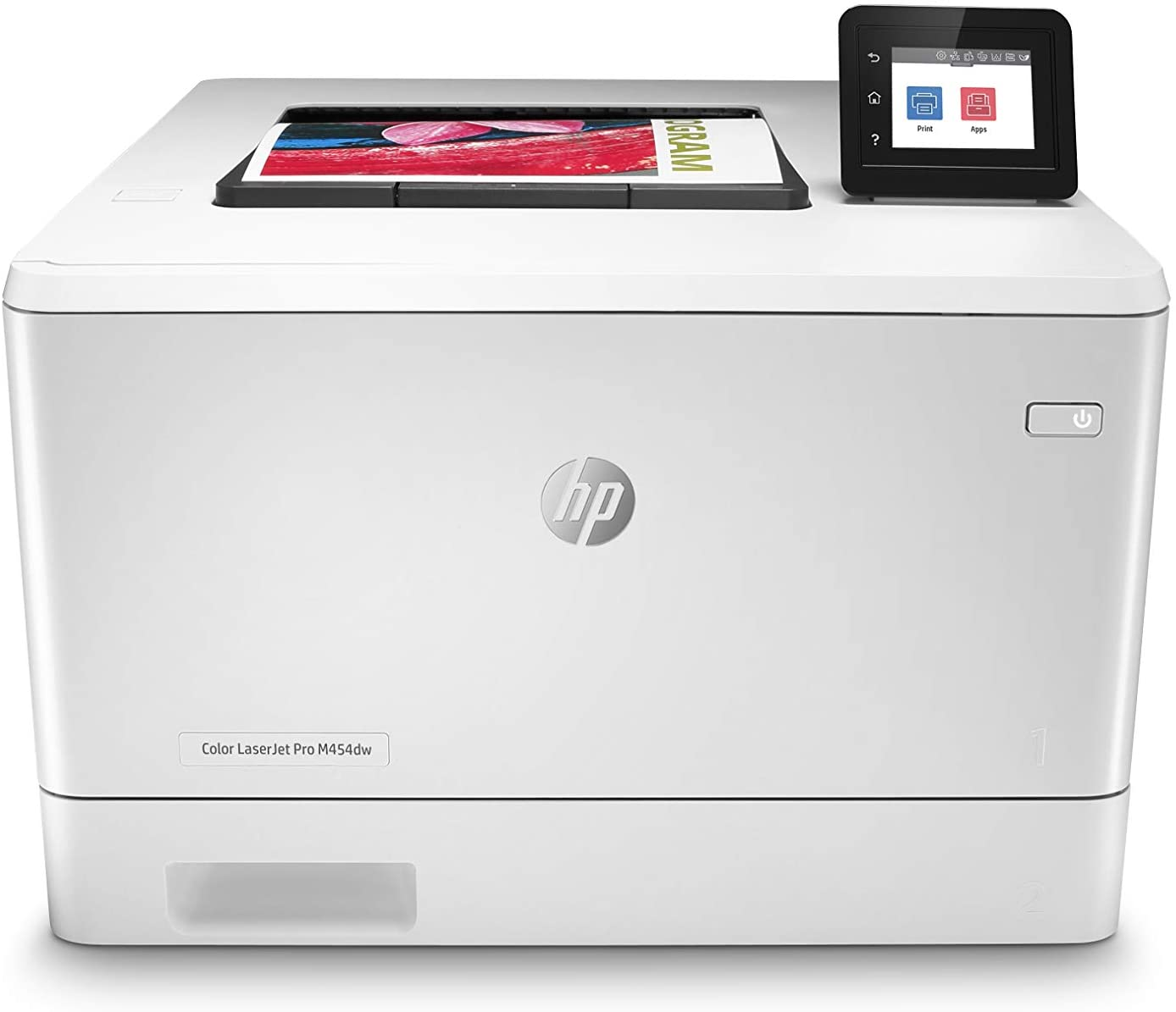 HP Color LaserJet Pro M454dw Wireless Laser Printer, Double-Sided & Mobile Printing, Security Features (W1Y45A)