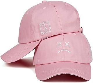 Dad Hat Embroidery 100% Cotton Baseball Cap Sad Face Hat Hip Hop Hat Golf Love Snapback Ladies Men