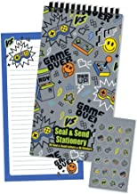 iscream 'Game Over' Seal and Send 40 Sheet Stationery Pad with Sticker Seals