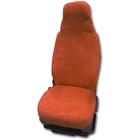 Universal Schonbezug Aus Frottee Farbe Terracotta Für Pilotsitze Und Wohnmobile Auto