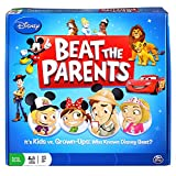 Spin Master Games Disney Beat The Parents Board Game - Who Knows Disney Best?