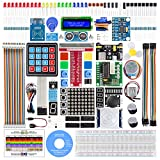 SunFounder Raspberry Pi Starter Kit with Detailed Tutorials Compatible with Raspberry Pi 4 B 3 B+, Support Python C,...