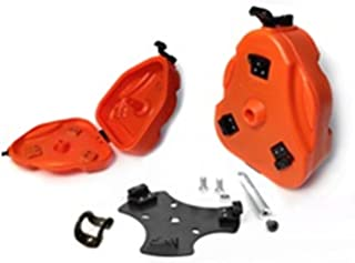 Daystar, Yamaha Rhino Cam Can Trail Box, Orange, With 1 1/2