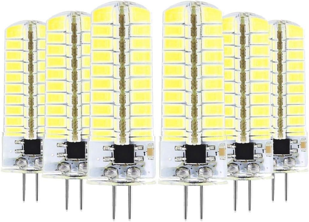 Liyuzhu 6 PCS G4 5W Tampa Mall LED Light Sacramento Mall 5730 80LEDs 110-130V AC Bulb E SMD