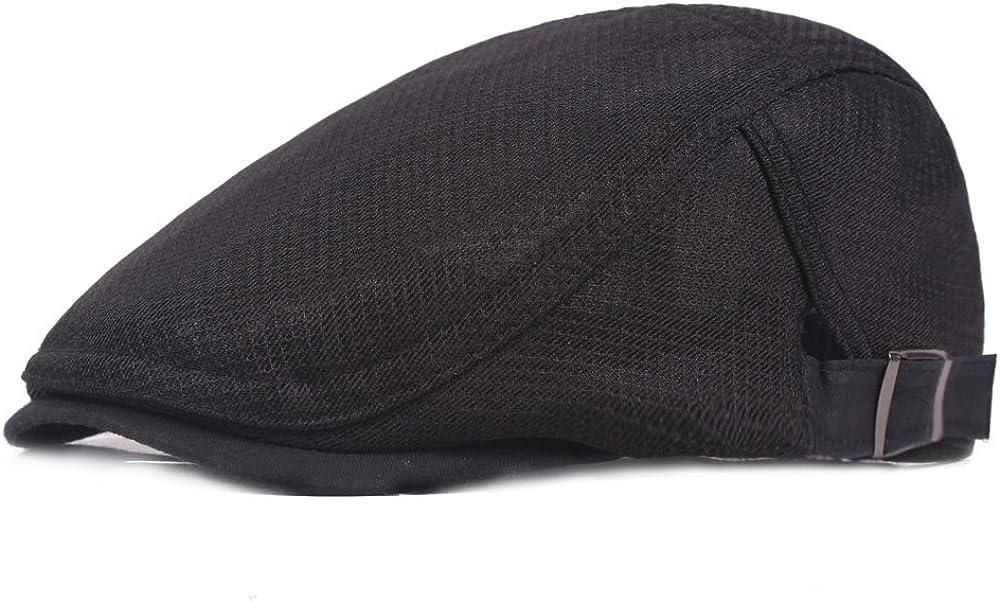 Oklahoma Wholesale City Mall Quanhaigou Men's Cotton Flat Snap Hunting Newsboy Gatsby Ivy Hat