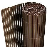 [neu.haus] Tappetino in PVC (90x300cm) (marrone) Protezione visiva / Protezione...
