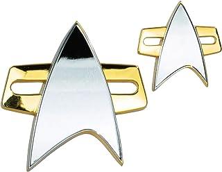 Quantum Mechanix QMx - Star Trek: Voyager Badge and Pin Set