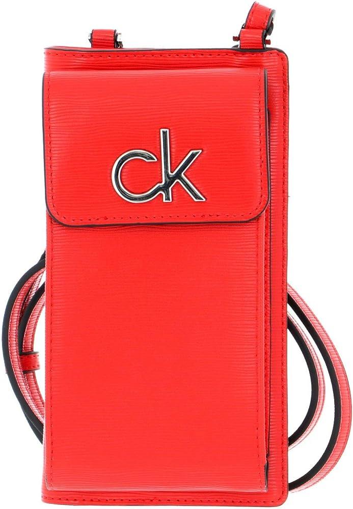 Calvin klein borsetta a tracolla da donna portafoglio porta carte di credito porta cellulare in ecopelle
