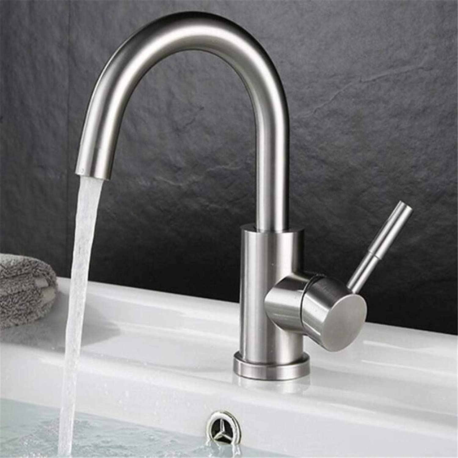 Faucet Washbasin Mixer Single Handle redatable Bathroom Faucet High Quality Stainless Steel Basin Faucet Water Mixer