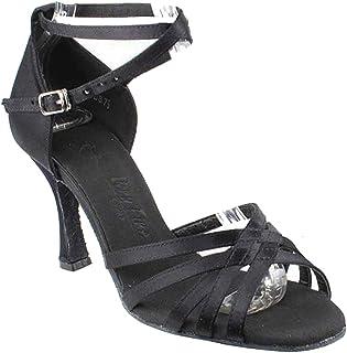 "Women`s Ballroom Dance Shoes Tango Wedding Salsa Shoes Sera2613EB Comfortable-Very Fine 3""[Bundle of 5]"