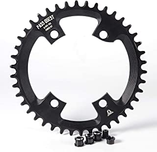 PASS QUEST 110BCD Round Road Bike Narrow Wide Chainring 40T-52T Bike Chainwheel ultegra R7000 R8000 DA9100
