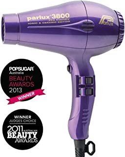 Parlux 3800 Ceramic & Ionic Dryer 2100W, Purple