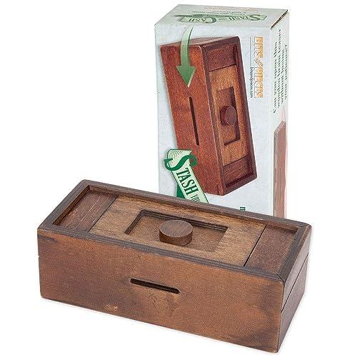 Salamander Wooden Secret Puzzle box